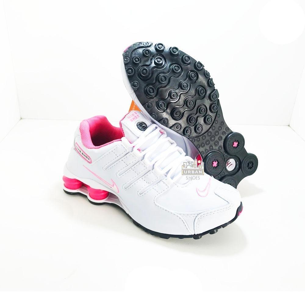 dc597d83e79 tênis nike shox nz 4 molas original feminino na caixa. Carregando zoom.