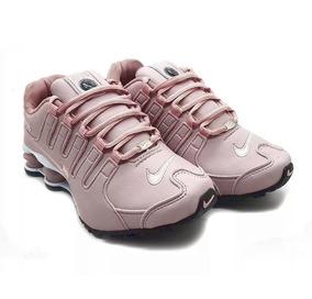 aae2b586246 Tênis Nike Shox Nz 4 Molas Original Rosa Masculino Feminino