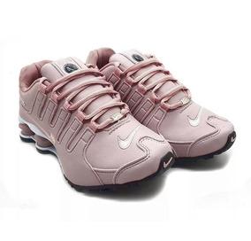 d0f8ffafda1 Tênis Nike Shox Nz 4 Molas Black Masculino Original Feminino