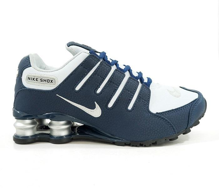 2e47648e08d ... usa tênis nike shox nz 4molas azul branco masculino frete grátis 2aa1d  a46c3 ...