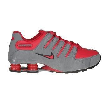 4a262091b6 Tênis Nike Shox Nz Cinza E Vermelho Lindo! Tamanho 36 - R  300