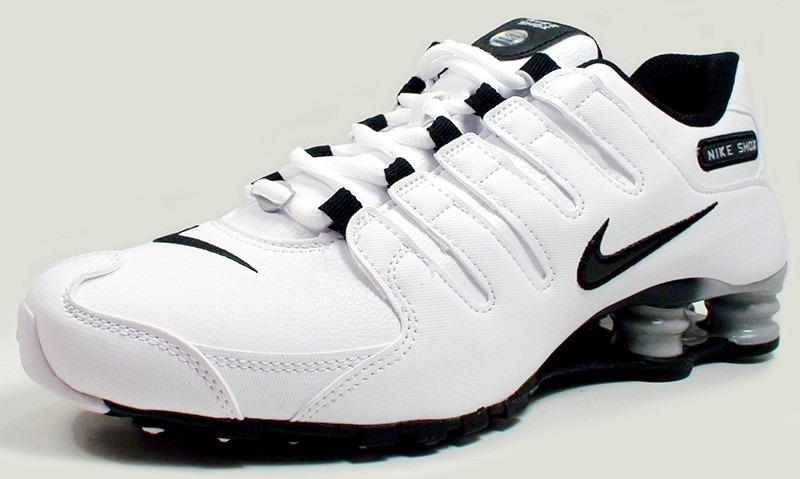 f02abfb2e tênis nike shox nz eu couro branco 100% original tamanho 35. Carregando  zoom.