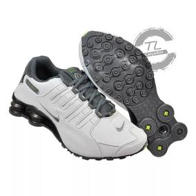 30a7f853594 Tênis Nike Shox Nz Eu Couro Original Importado Vietnan Frete