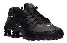 buy online 6365f 0306c Tamtm Nike Shox - Tênis Esportivo Preto com o Melhores Preços no Mercado  Livre Brasil