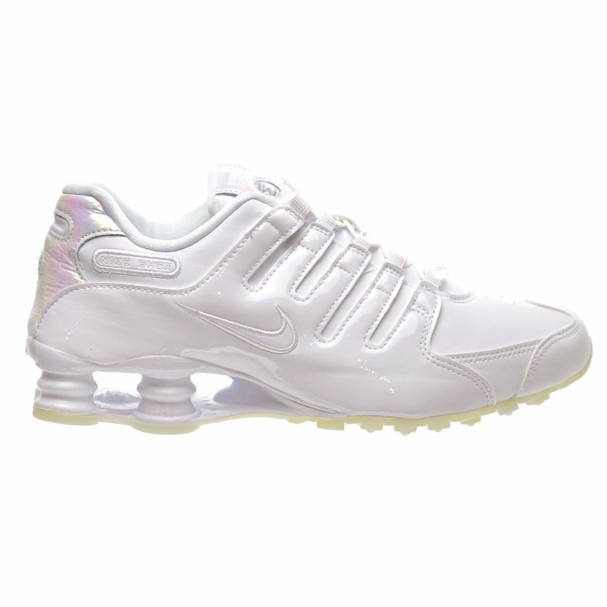 ca6a3909670 tênis nike shox nz feminino branco 636088-115 original. Carregando zoom.