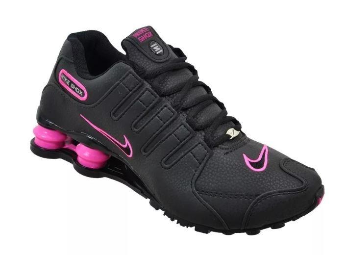 63cf7a5ddb1 Tênis Nike Shox Nz - Feminino Original - R  259