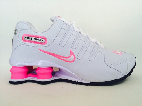 af0475a2144 Tênis Nike Shox Nz Feminino Original + Brinde - R  422