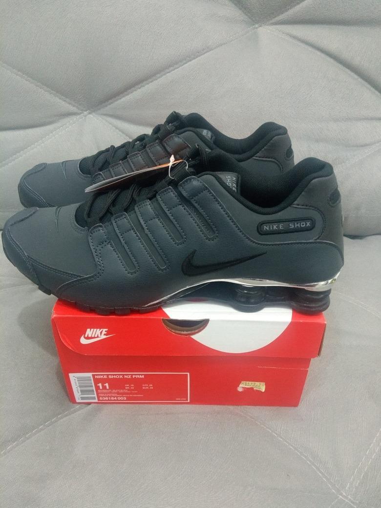 2829ee5c41 Tênis Nike Shox Nz Premium Masculino.jão-mix - R  449