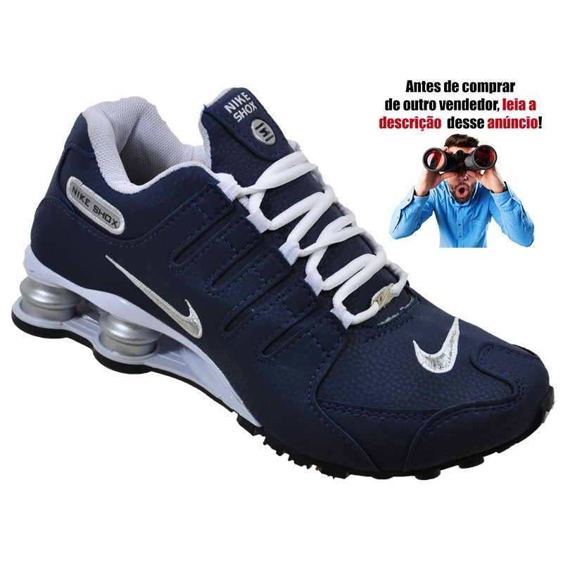 Tênis Nike Shox Nz Promoção Casual Junior 2.0 Masculino Mola - R ... a37564dc294cc