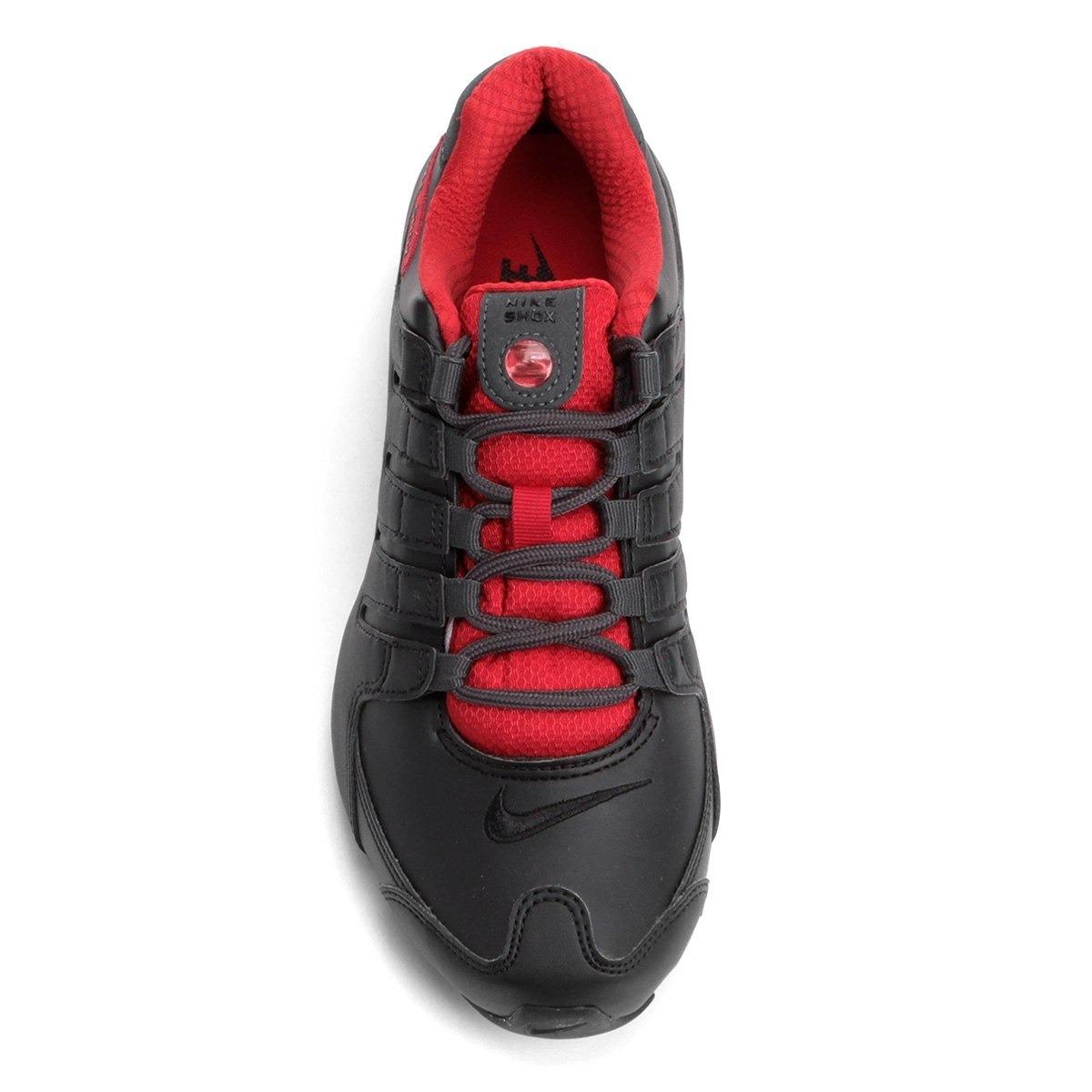 476e8a1b34eb ... ireland tênis nike shox nz se preto e vermelho original. carregando  zoom. 79b5e 233da