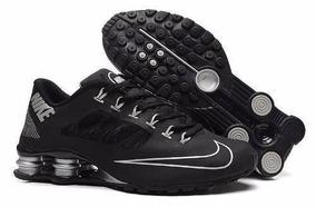 209d39842c3 Tenis Nike Shox R4 Branco dourado - Tênis no Mercado Livre Brasil