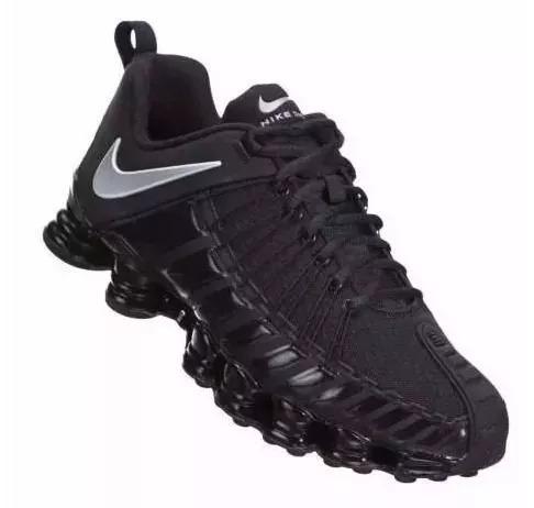 694dc9f3132 Tênis Nike Shox Tlx 12 Molas Preto Confortável Promoção - R  249