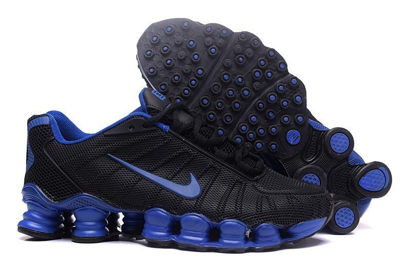 50e4837e4 ... discount tênis nike shox tlx 12 molas preto e azul frete grátis.  carregando zoom.