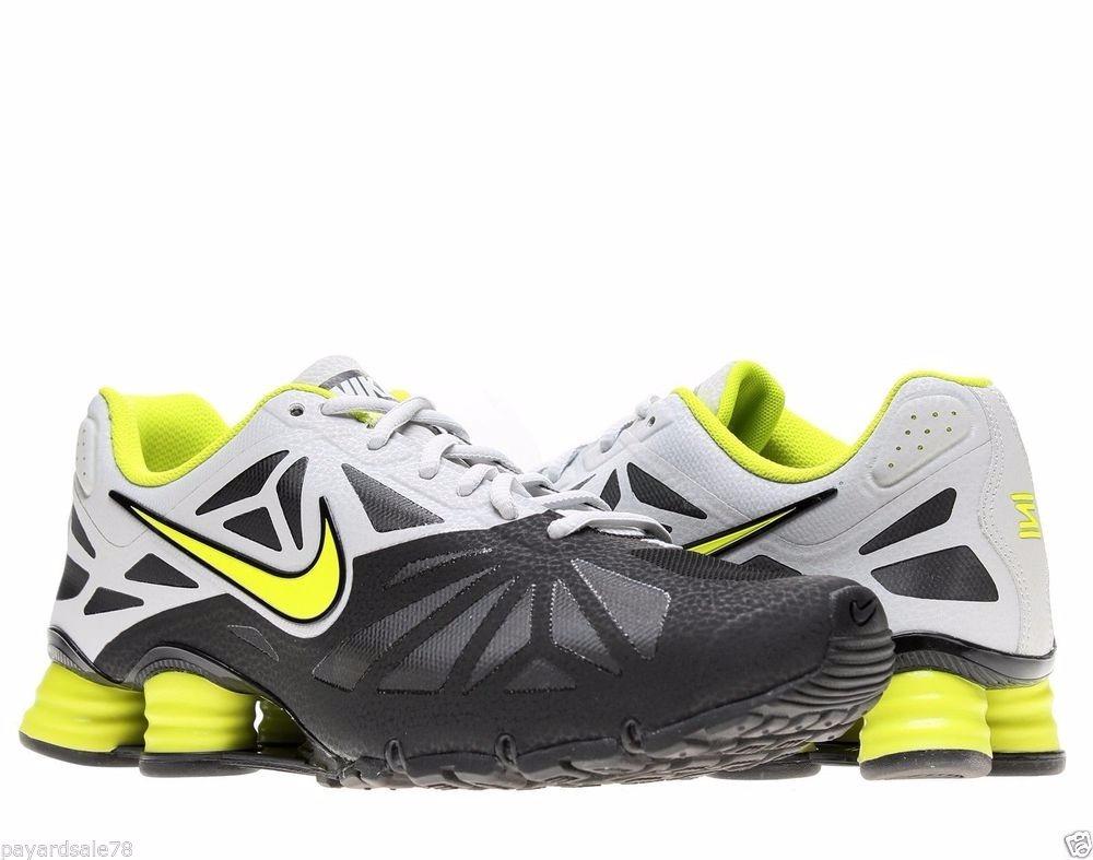 85e4ae22683 Tênis Nike Shox Turbo 14 631760-001 Preto limão - R  449