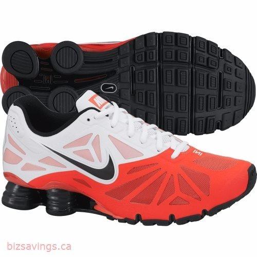5adc7a08a8af9 Tênis Nike Shox Turbo 14 631760-600 Branco laranja - R  449