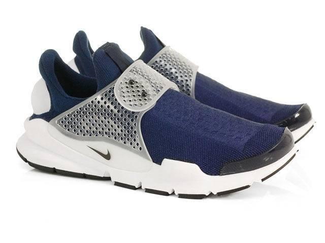 65b99e3099a Tênis Nike Sock Dart Azul E Branco Original Promoção - R  340