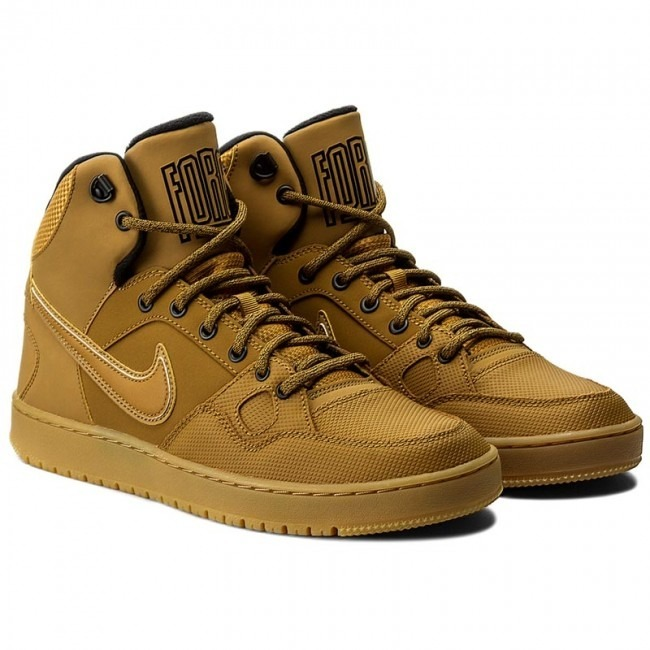36d2e6fc60 Tênis Nike Son Of Force Mid Caramelo - Boot sneakerboot - R  299