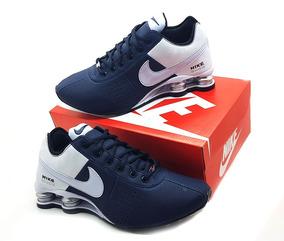 566ab82b8b7 Teni Nike Branco Vermelho - Nike no Mercado Livre Brasil
