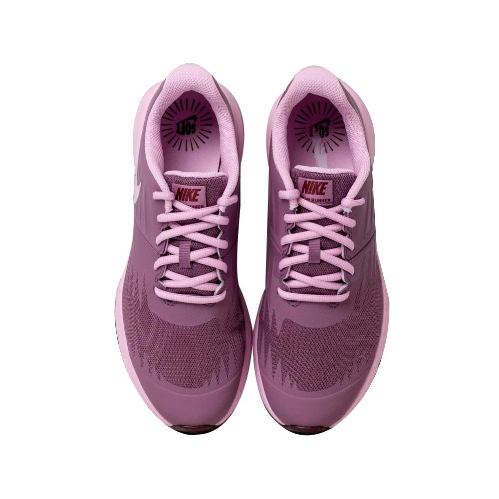 1b5e40e3da Tênis Nike Star Runner Feminino Menina Rosa 907257500 - R$ 279,90 em ...