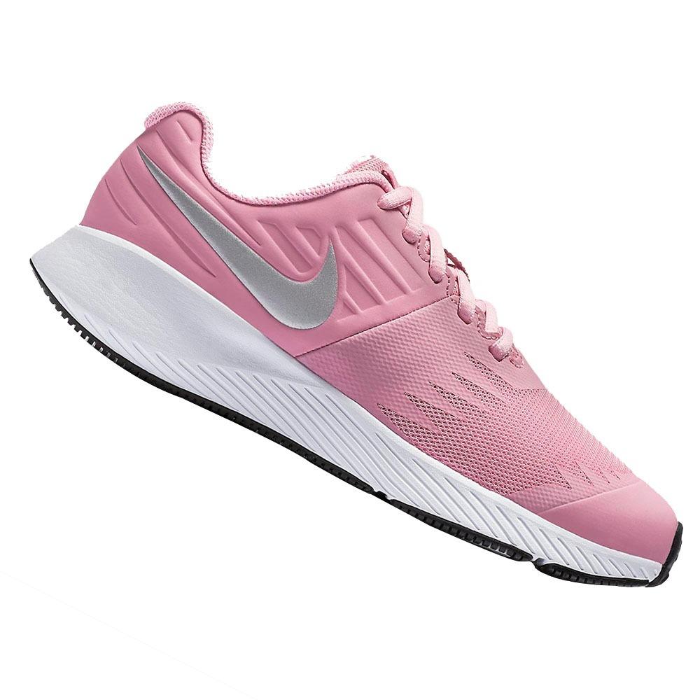 ... tênis nike star runner infantil feminino rosa- original. Carregando  zoom. ffc89aa504e55