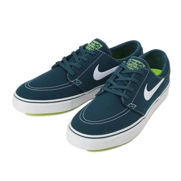 Tênis Nike Stefan Janoski Canvas 615957-317 Azul Petroleo - R  480 ... b0336f6c4f
