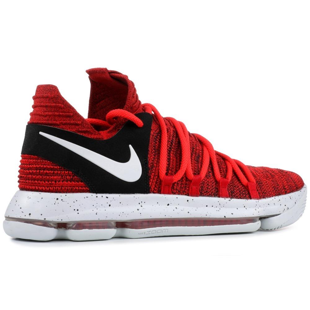 the latest ed2d4 6431f Tênis Nike Zoom Kd 10 X University Red Velvtet Kevin Durant