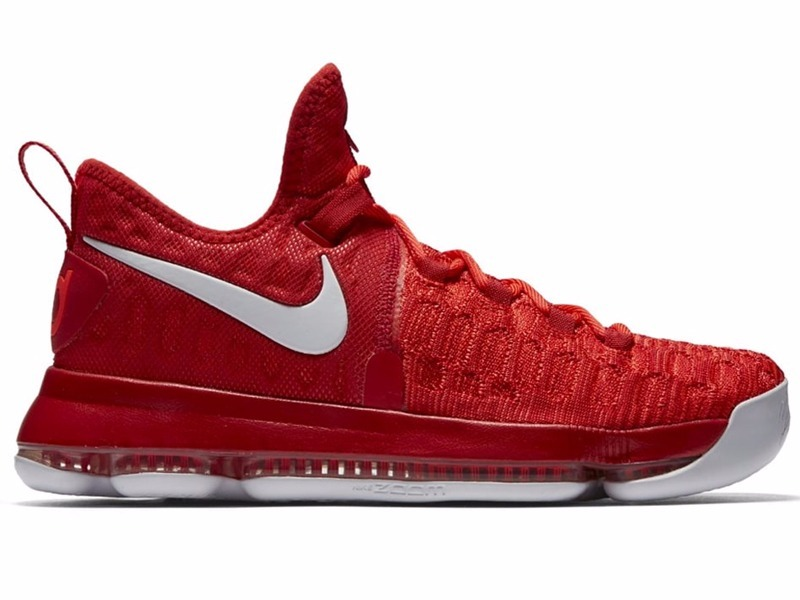36433b2a00 Tênis Nike Zoom Kd 9 Kevin Durant University Red
