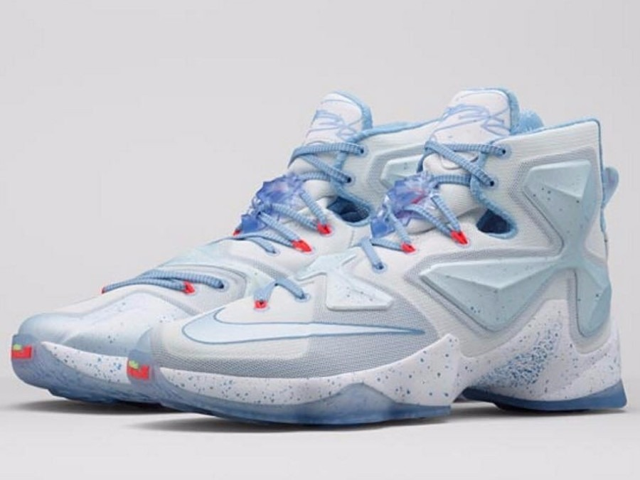 on sale 0f7af 58007 Tênis Nike Zoom Lebron 13 Xmas Fire & Ice - Pronta Entrega