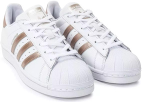 aa076ee3490 Tênis Feminino Casual adidas Original Superstar Rose Gold