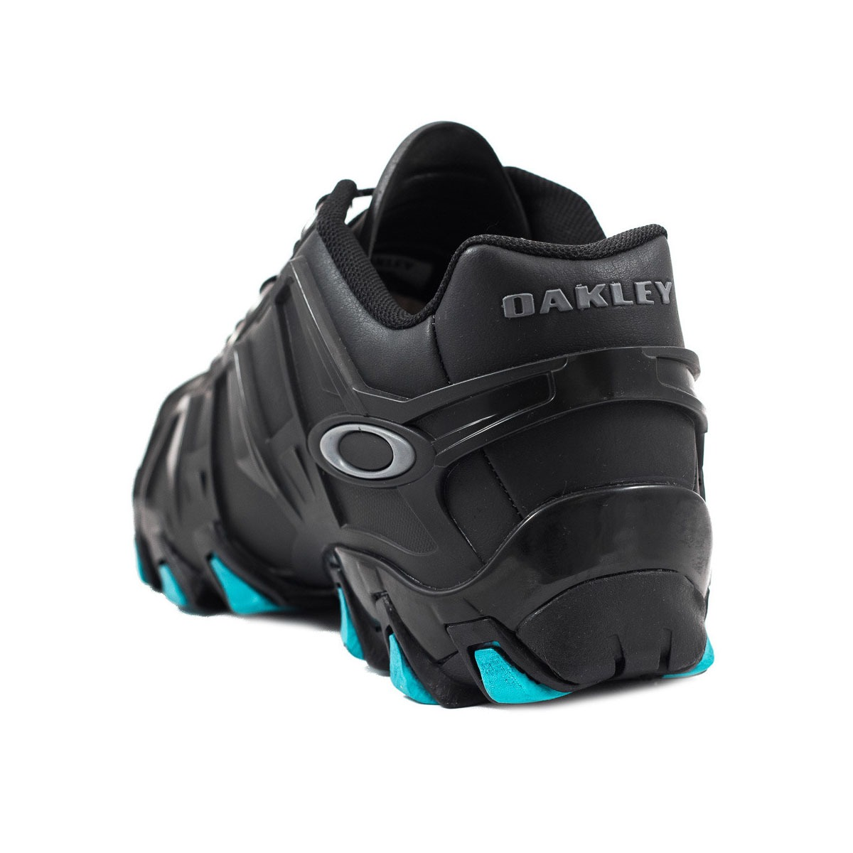 49f3ebbb45dd2 tênis oakley hardshell 3 em couro black turquoise. Carregando zoom.