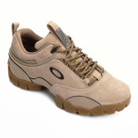 75e89eb7726 Tenis Couro Oakley Enduro Masculino Caqui - Calçados