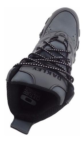 tênis oakley teeth anchor cano alto grafite mod:13895