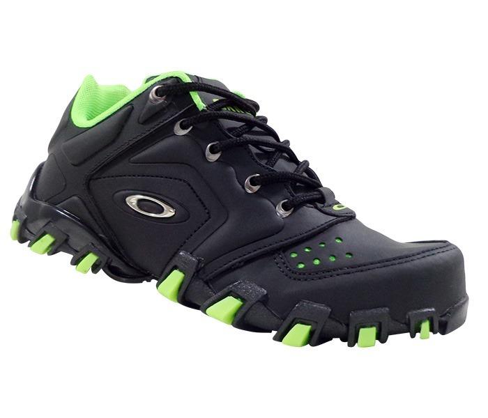 4096f7570796f Tênis Oakley Teeth Anchor Preto E Verde - Masculino - R  149
