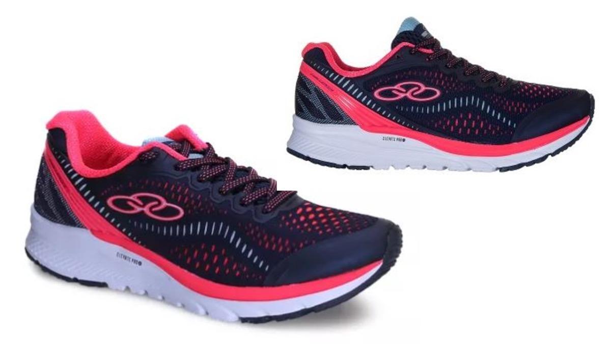 tênis olympikus feminino challenger marinho rosa 006093. Carregando zoom. 6d31a43c75f95