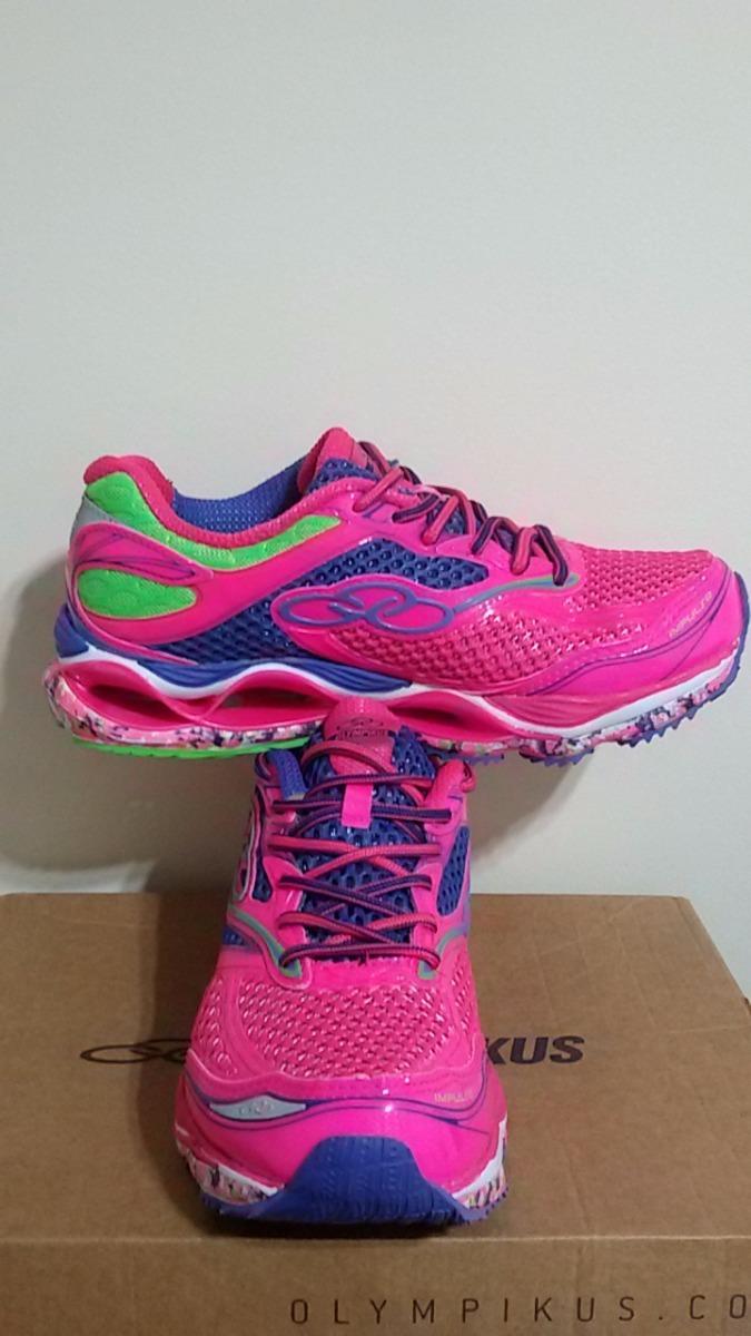 2bb3386c6cd tênis olympikus feminino impulse pink novo promoção. Carregando zoom.