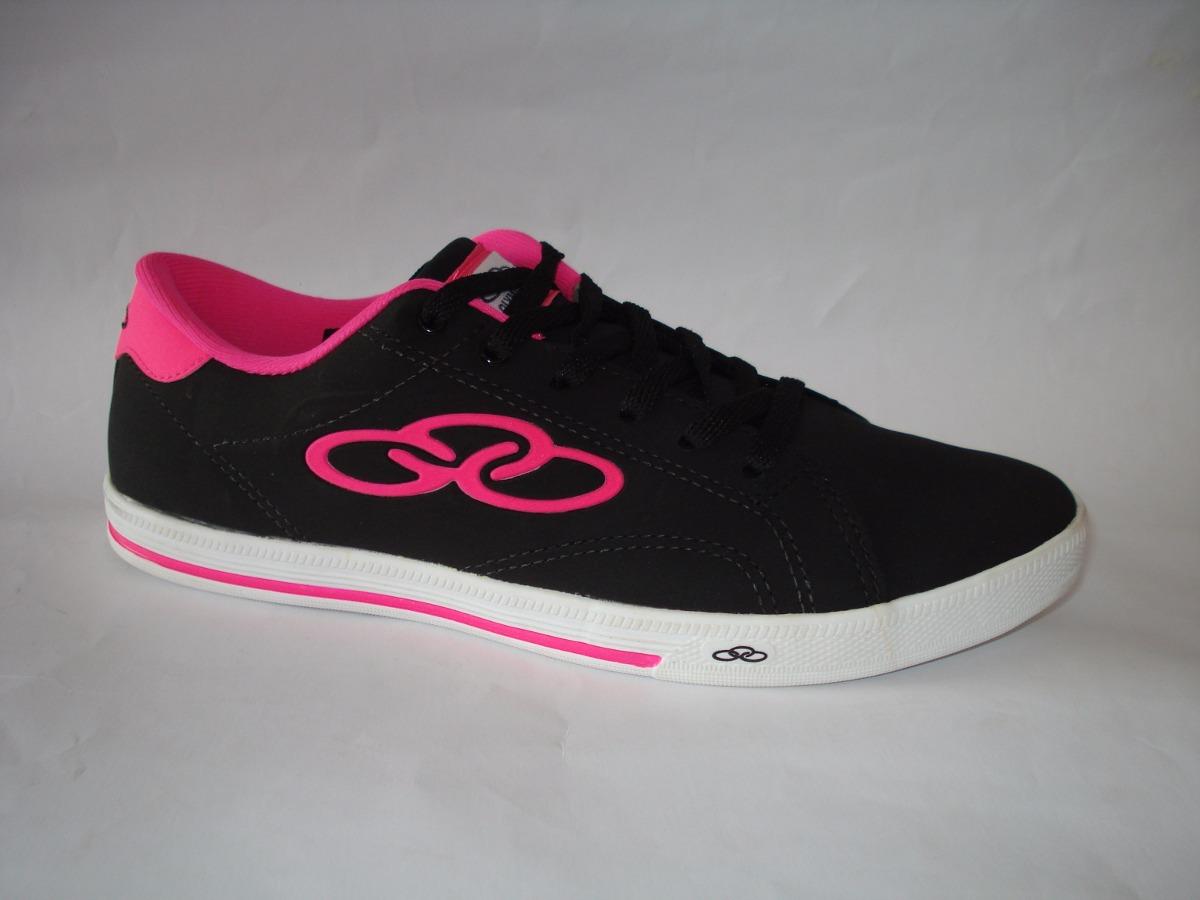 5151cc94c Tênis Olympikus Feminino Johnny Preto rosa Nº 40 R 89
