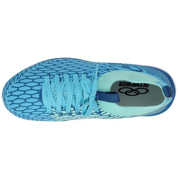 c2f5a02e75 Tênis Olympikus Future 349 Azul Celeste azul Piscina - R  199