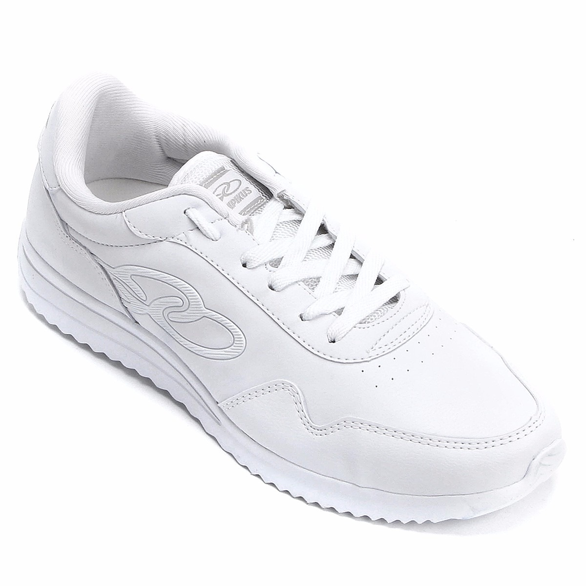 tênis olympikus jogging 200 original branco e preto 34 ao 44. Carregando  zoom. 0bb3238e11381
