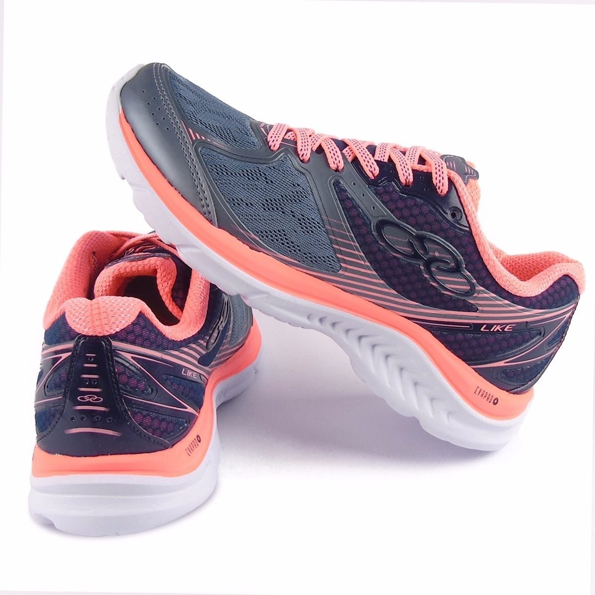 5353f342538 tênis olympikus like feminino corrida caminhadas original. Carregando zoom.