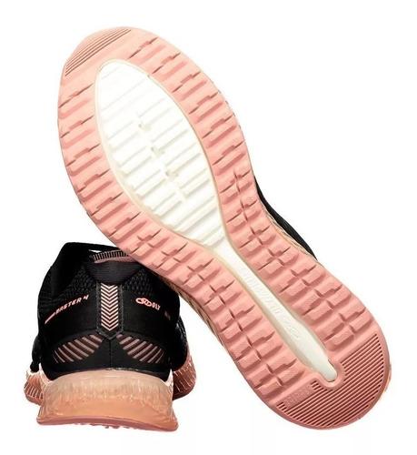 tênis olympikus master 4 feminino preto e rosa promoção