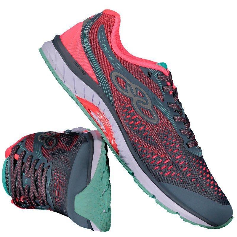97147a7bffb tênis olympikus rio 6 feminino cinza e rosa. Carregando zoom.