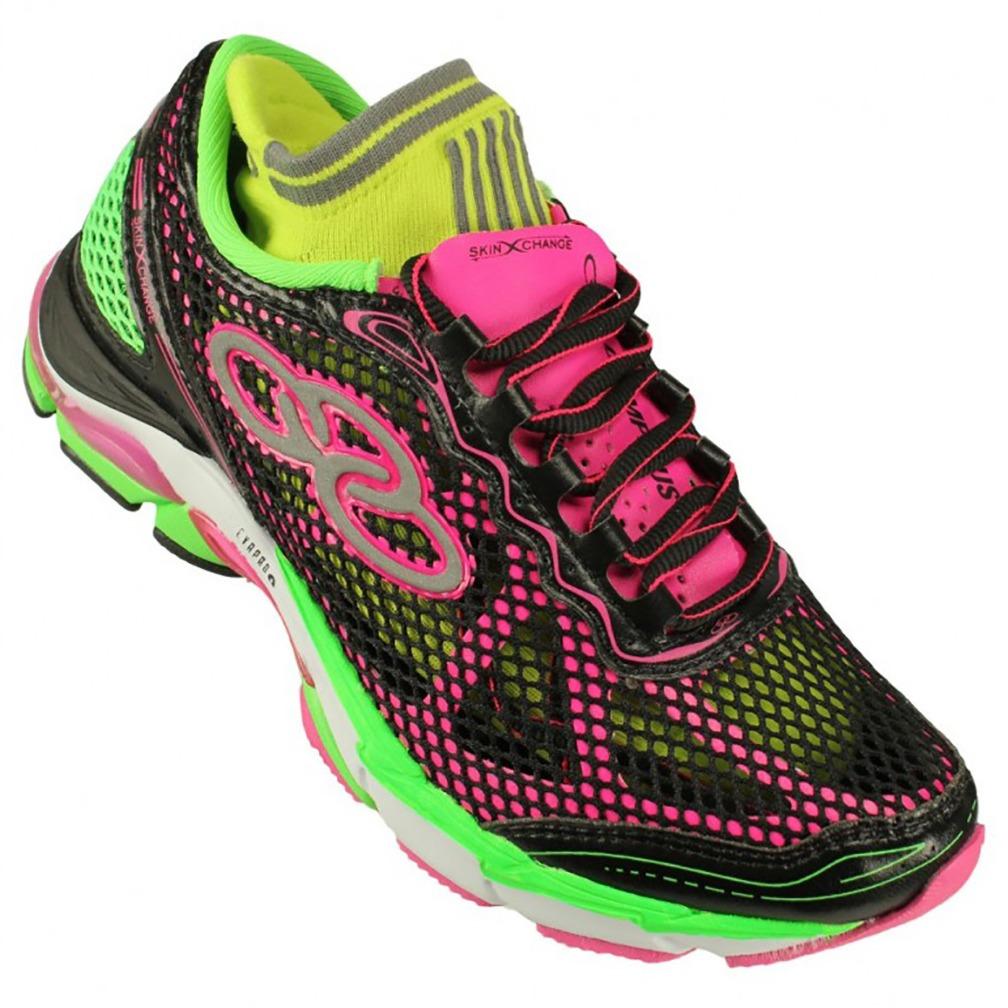 f8a0713f1c tênis olympikus skin change feminino - preto e rosa. Carregando zoom.