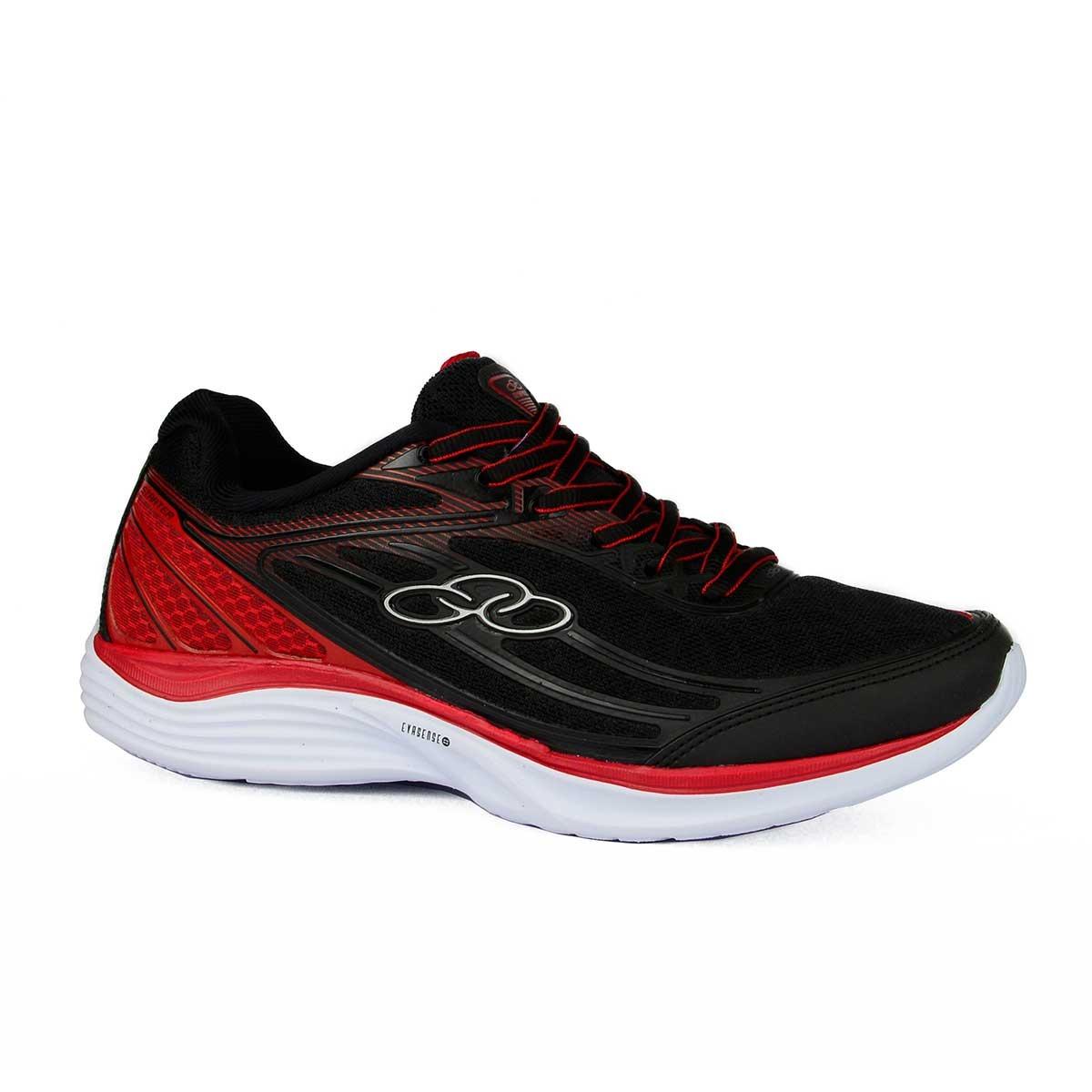 0d0fc0148b8 tênis olympikus starter preto vermelho. Carregando zoom.