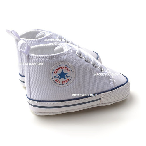 tênis para bebê all star converse infantil branco unissex