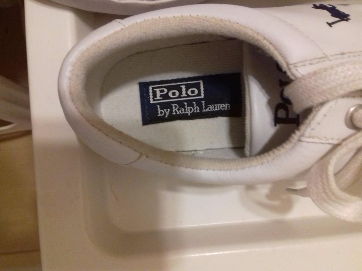20ec1bed6b Tênis Polo Ralph Lauren De Couro - Tamanho 40 Brasil - R$ 249,00 em ...