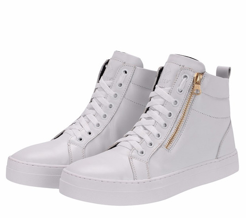 tênis pra todas ocasiões sneaker couro  selten b2