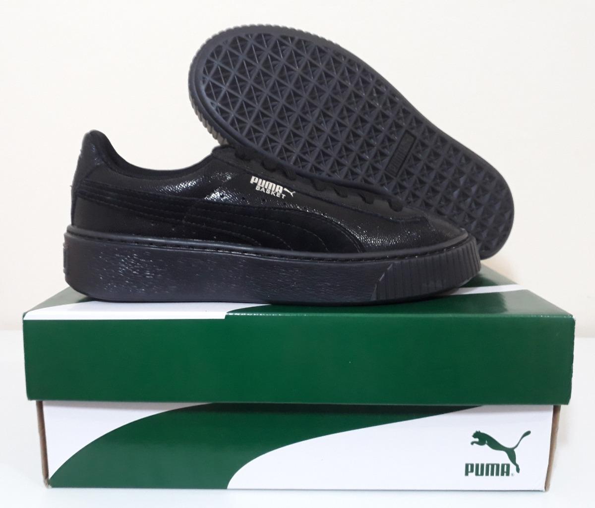 new product 83d0f 7782b Tênis Puma Basket Platform Ns Hip Hop Rihanna