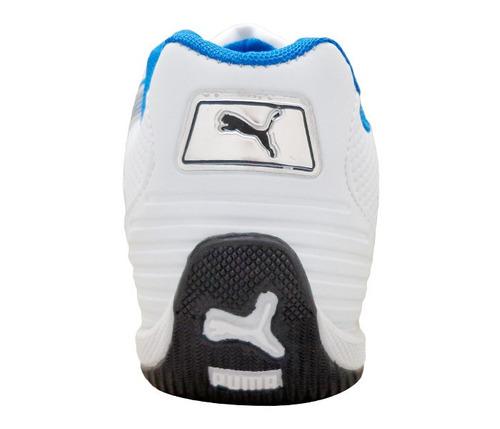 tênis puma bmw branco e azul frete gratis