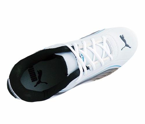 tênis puma bmw motorsport branco e preto frente gratis