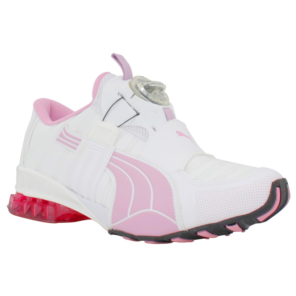 2f131f8b68d tênis puma disc branco rosa feminino tamanho 38. Carregando zoom.